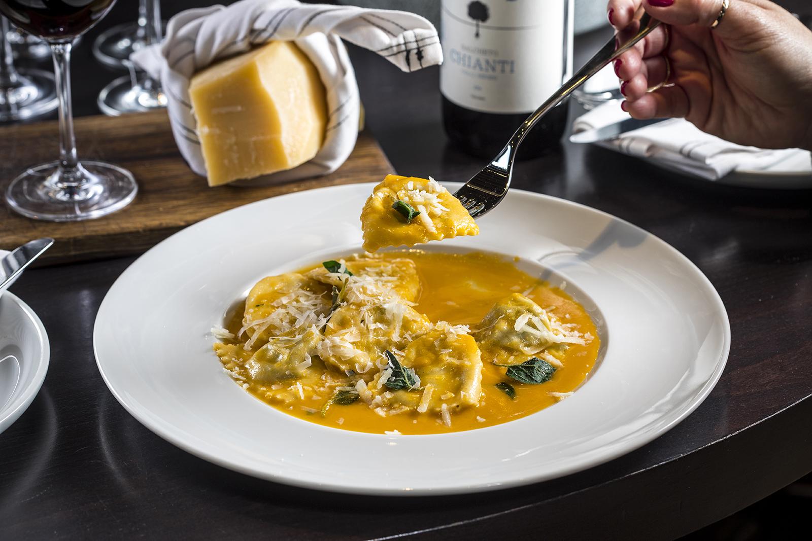 טורטליני גבינות מסעדת פומו צילום אפיק גבאי