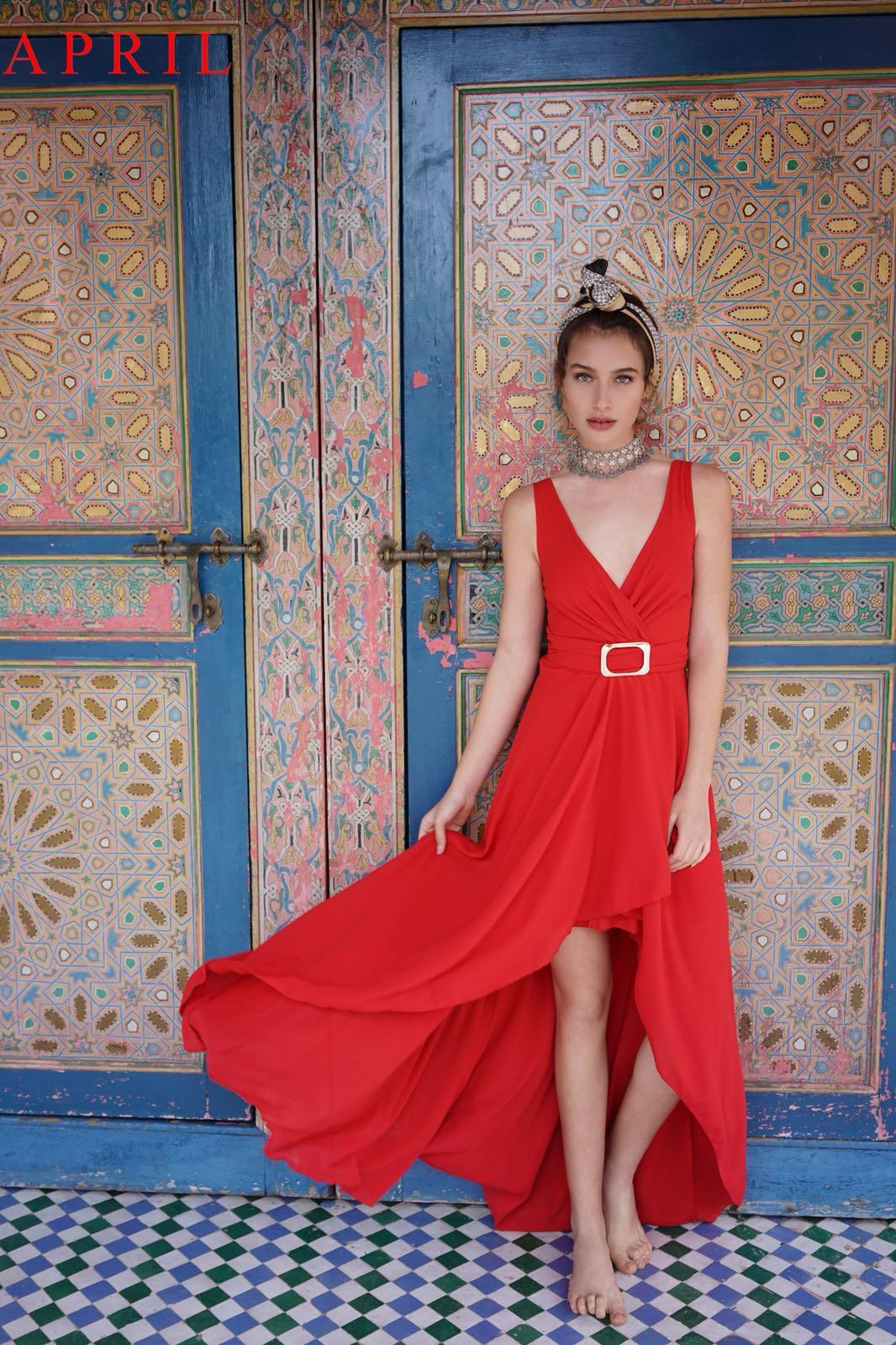 אפריל. קולקציית שמלות פרום צילום -אלון שפרנסקי