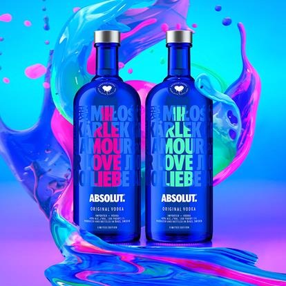 וודקה אבסולוט Absolut Drop Of Love