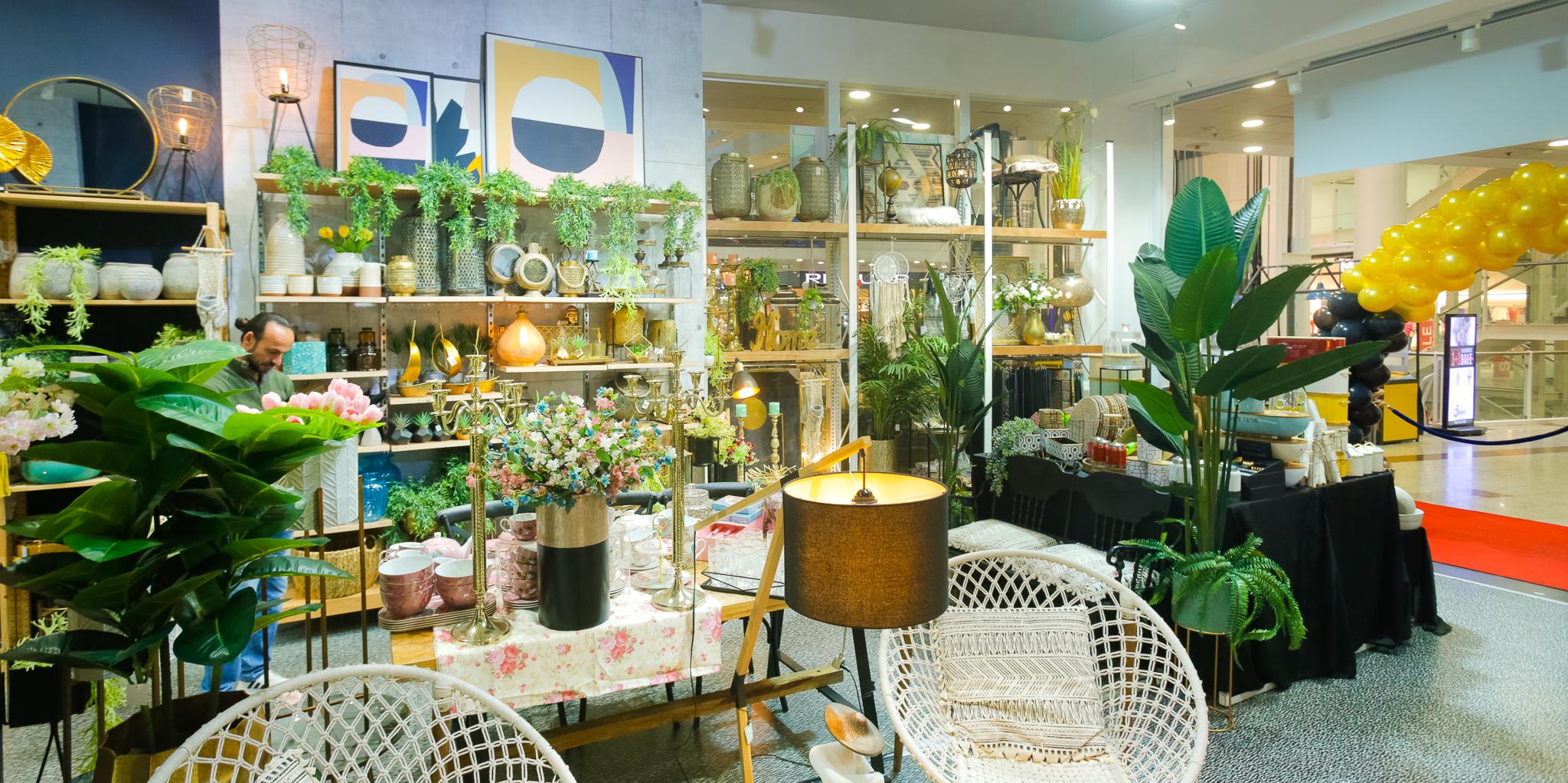 מותג עיצוב הבית האינטרנטי STYLISH פתח חנות קונספט ראשונה בקניון עזריאלי חיפה צלם אריק רובין