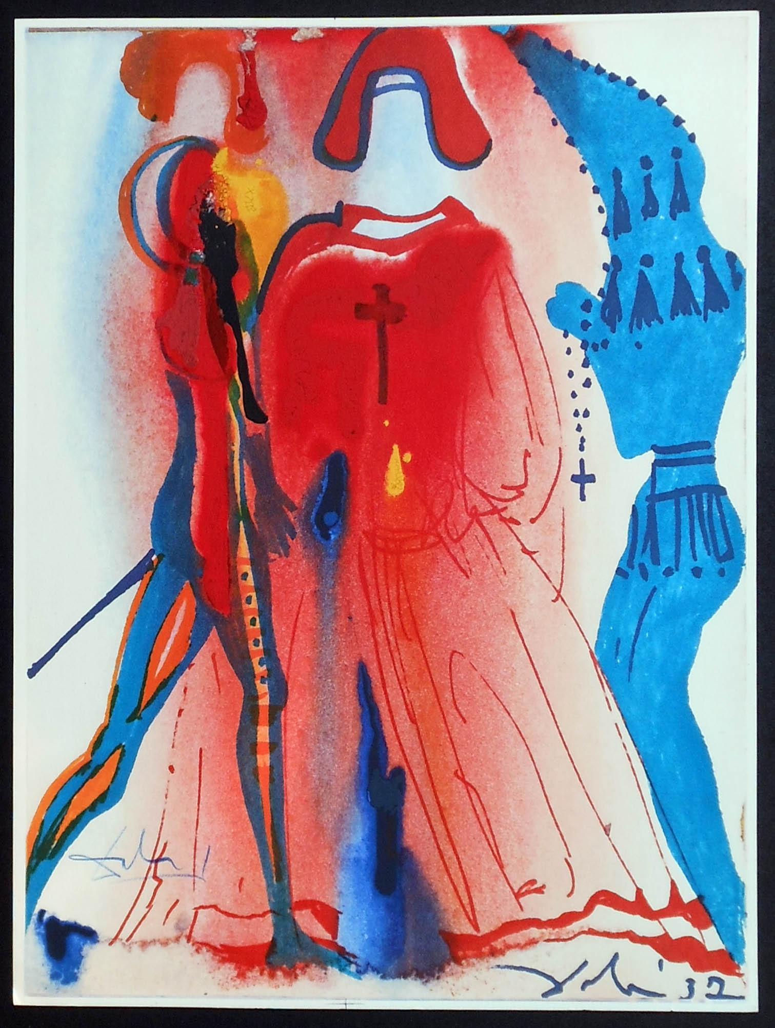 תערוכה של דאלי בגלריית אלטמן תל אביב-מתוך סדרת איורים רומיאו וג'ולייט (6)