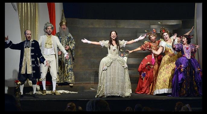 אופרה לילדים- סינדרלה. צילום יוסי צבקר