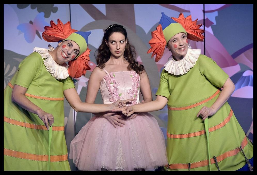 אופרה לילדים- אליסה בארץ הפלאות. צילום יוסי צבקר