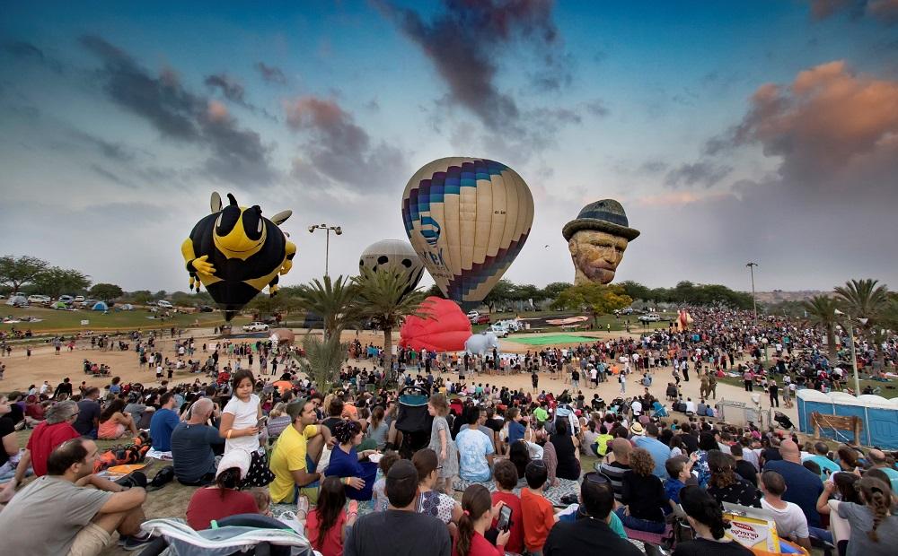 פסטיבל כדורים פורחים בצפון הנגב. צילום: תמרה כהן