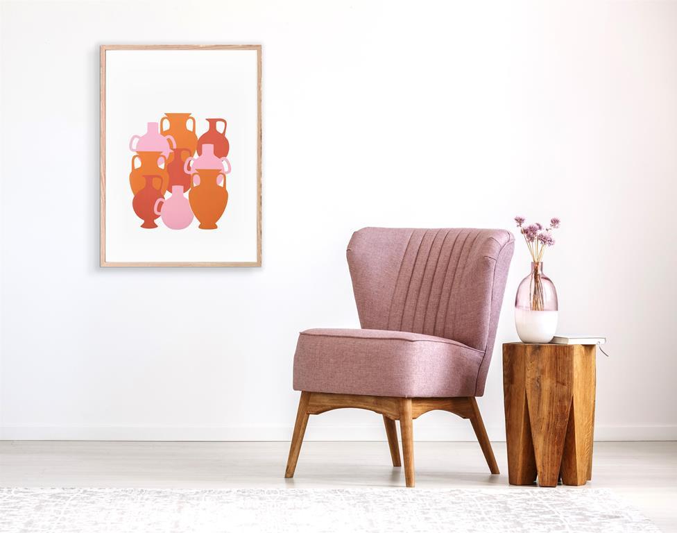 vases assembely lavender sofa