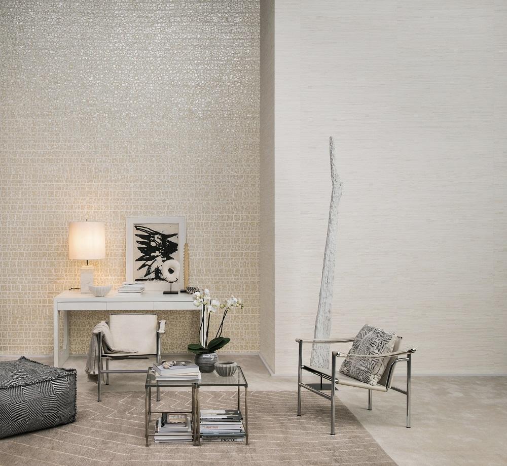 קיר קדמי-טפט קש יפני, קיר אחורי-טפט עשוי אם הפנינה, צילום יחצ חול