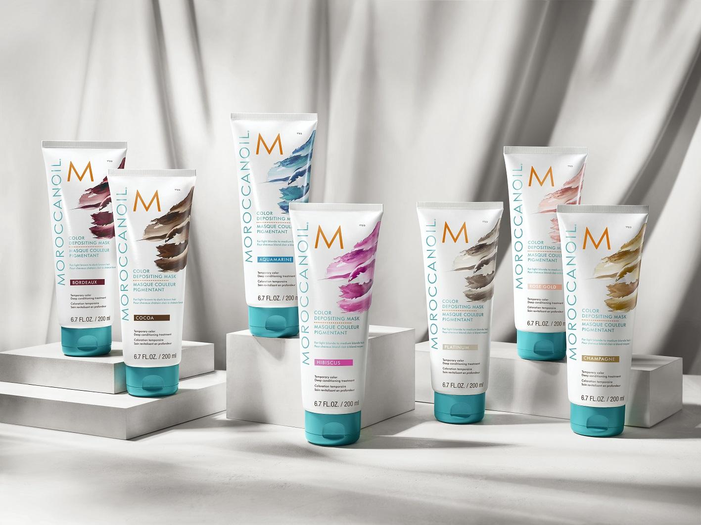 סדרת הצבעים החדשים לשיער של Moroccanoil
