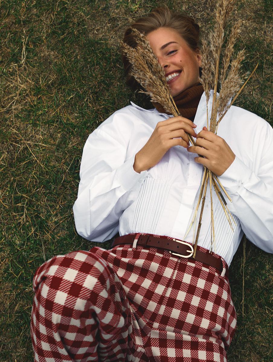 RESERVED-חולצה 139.90 שח ומכנסיים 199.90 שח צילום אלכס ליסובסקי