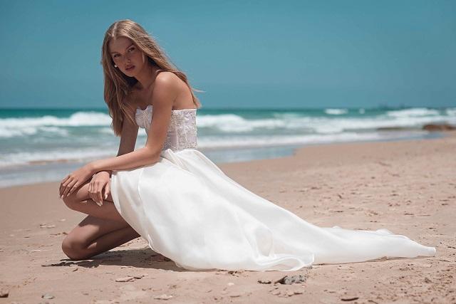 שמלה של אוהד קריאף. צילום: עדי שנפיק