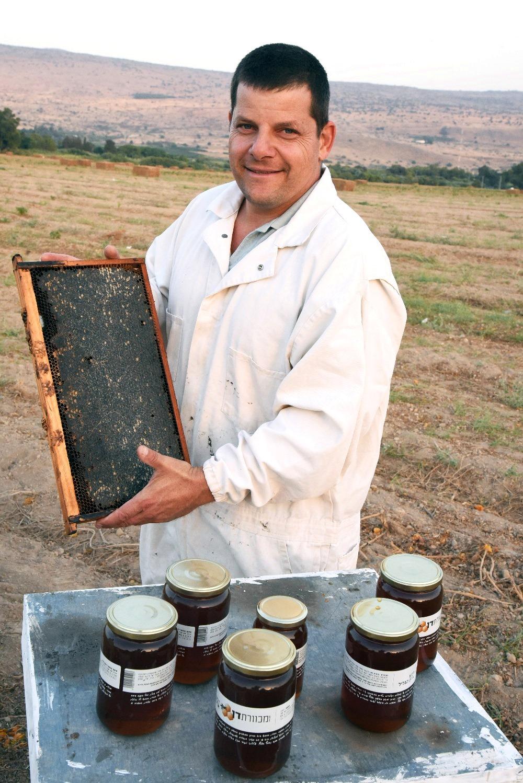 זוהר רודולף דבוראימכוורת גליל.צילום:מועצת הדבש