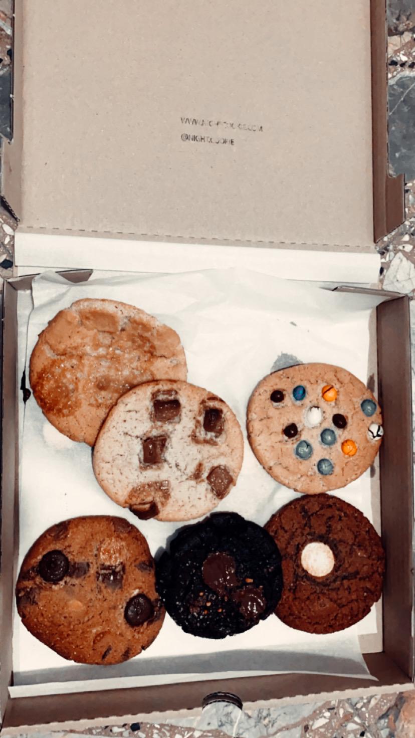 עוגיות השחיתות של נייט קוקי. צילום: רוני שקדי